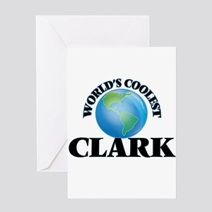 World's Coolest Clark Greeting Cards
